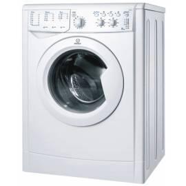 Waschvollautomat INDESIT IWC 5105 weiß - Anleitung