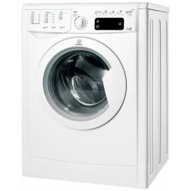 Bedienungsanleitung für Waschmaschine mit Trockner Trockner INDESIT IWDE 7105 B (EU) weiß