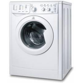 Waschmaschine mit Trockner Trockner INDESIT IWDC 7105 (EU) weiß Gebrauchsanweisung