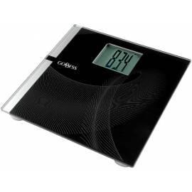 Bedienungshandbuch Persönliche Gewicht Göttin SCA 619 Jumbo schwarz/Glas