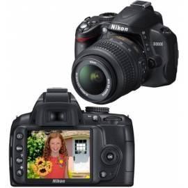 Benutzerhandbuch für Digitalkamera NIKON D3000 + 18-55 AF-S DX VR schwarz