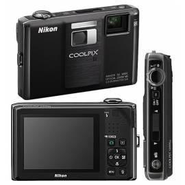 Die NIKON Coolpix S1000pj Digitalkamera Schwarz Bedienungsanleitung
