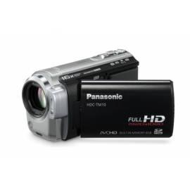 Bedienungshandbuch Camcorder PANASONIC HDC-TM10EP-K (schwarz) schwarz