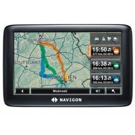 Navigation System GPS NAVIGON 3300 Max (B09020608) schwarz Gebrauchsanweisung
