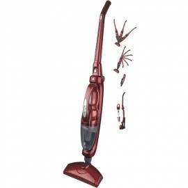 Schnurlose Staubsauger Göttin CL 009R silber/rot Bedienungsanleitung