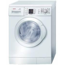 Waschvollautomat BOSCH WLX 24462, weiß - Anleitung