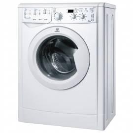 Benutzerhandbuch für Waschvollautomat INDESIT IWSD 4105 weiß