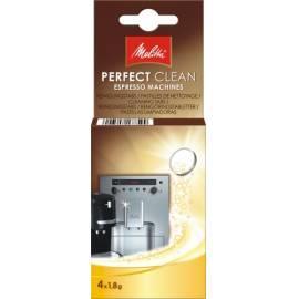 Bedienungsanleitung für Reinigung tablety für Espressa MELITTA perfekt sauber Espresso 4 x 1, 8g