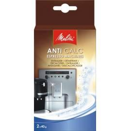 Service Manual Wasserenthärter für Express Anti-Calc MELITTA Espresso 2x40g