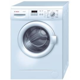 Bosch WAA24222 Waschmaschine, vordere Leistung - Anleitung