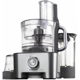 Benutzerhandbuch für Küchenmaschine KENWOOD MultiPro Excel FP 972 Silber/Metall/Kunststoff