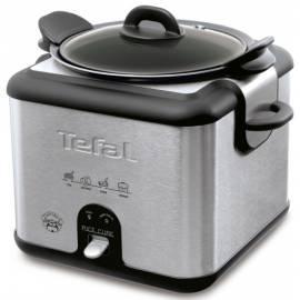 E-Herd, TEFAL RK400932 Cube Reis aus Edelstahl Bedienungsanleitung
