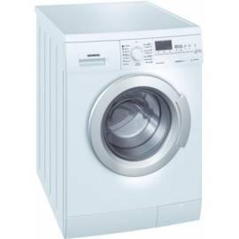 deutsche bedienungsanleitung f r waschvollautomat siemens wm 14e443 wei deutsche. Black Bedroom Furniture Sets. Home Design Ideas