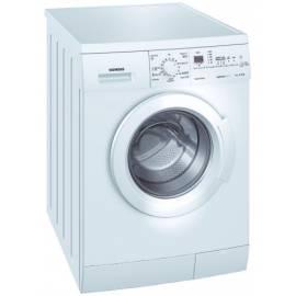 Waschvollautomat SIEMENS WM 12E362BY VarioPerfect weiß Gebrauchsanweisung