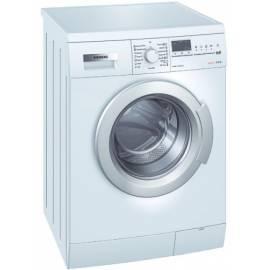 Benutzerhandbuch für Die Waschmaschine SIEMENS WS 12X462BY weiß