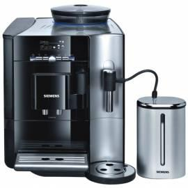 Espresso SIEMENS TK 76209RW Schwarz/Edelstahl Gebrauchsanweisung