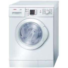 Bedienungsanleitung für Waschvollautomat BOSCH WAE 28463 würde weiß