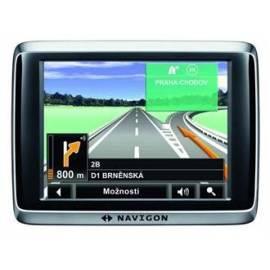 Bedienungsanleitung für NAVIGON GPS Navigation System 2400 (B09021208) schwarz/grau