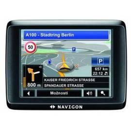 Navigationssystem GPS NAVIGON 1400 (B09021108) schwarz Gebrauchsanweisung