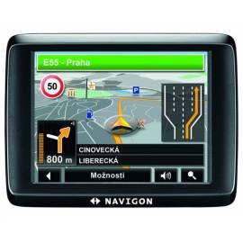 Bedienungshandbuch Navigationssystem GPS NAVIGON 1410 (B09021113) schwarz