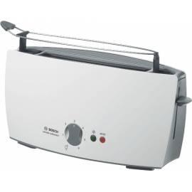 Toaster BOSCH TAT 6001 grau/weiss - Anleitung