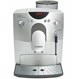 Benutzerhandbuch für Espresso BOSCH TCA 5601 Silber