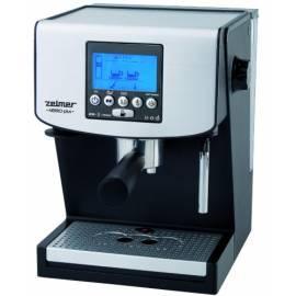 Bedienungshandbuch Espresso ZELMER 13Z016 schwarz/silber