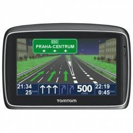 PDF-Handbuch downloadenNavigationssystem GPS TOMTOM GO 950 Welt Traffic + 2 Jahre Landkarte Aktuelles Silber
