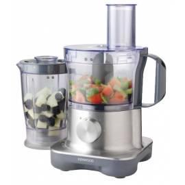 Bedienungsanleitung für Küche Roboter KENWOOD MultiPro FP 250 Compact Edelstahl